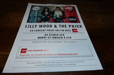 LILLY WOOD AND THE PRICK - Publicité de magazine / Advert !!! OUI FM !!!