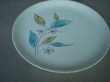 "Vintage 9 1/4"" Salem Biscayne Dinner Plate 62W  USA Pottery"