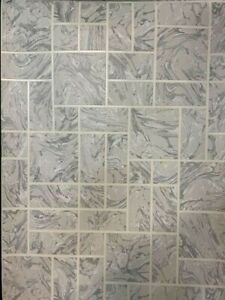 HOLDEN DÉCOR marble tile grey 89251  tiling on a roll washable