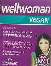 Wellwoman Vegan Extra Dietary Support 60 Tablets For Vegetarians & Vegans
