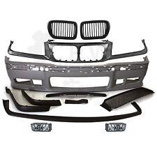 Set Stoßstange vorne + Nebel + Grill Halter + Nieren BMW E36 Bj. 90-99 M3 Optik