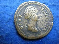 Faustina De Antoninus Pius Senior (esposa): sestercios, Rev La Eternidad-Rara Moneda!