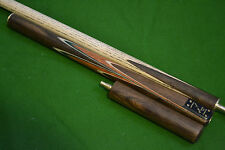 HANDMADE ROSEWOOD MULTI-SPLICED 3/4 JOINTED SNOOKER CUE