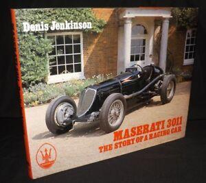 MASERATI 3011 THE STORY OF A RACING CAR DENIS JENKINSON HARDBACK BOOK