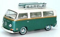 1:64 1972 VW KOMBI VAN T2 WITH SURFBOARD -  BRAND NEW - SUPERB DETAIL