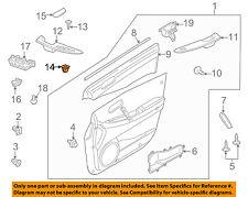 MAZDA OEM 07-17 CX-9 Rear Bumper-Splash Shield Grommet 999100501