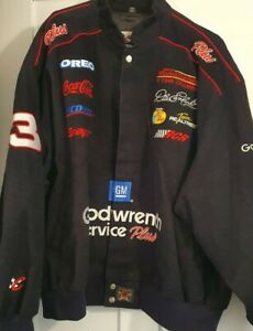 Chase Authentics Dale Earnhardt Jacket #3 Black Goodwrench heavy Size 3XL