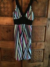 Mica Sz 6 Striped Empire Dress