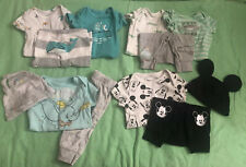 3 Month Baby Boy Lot Disney Baby Dumbo, Mickey Mouse *See Description/pictures*