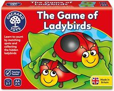 Orchard Toys THE GAME OF LADYBIRDS Educational Game Puzzle BNIP