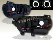 08 09 10 11 12  DODGE CHALLENGER SE BLACK PROJECTOR HEADLIGHTS TWIN HALO CCFL