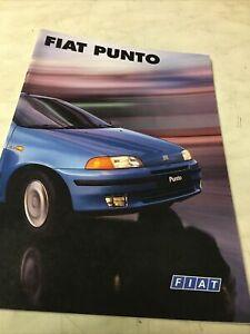 Fiat Punto 1999 55 60 T130 TD60 Cabriolet S SX Etc Catálogo Folleto