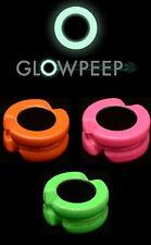 Glow Peep 7/32 Rosa-L' unico Peep Sigth che lavora in completa oscurità