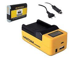 Patona Akku NB-12L 1800mAh + LCD 5 in1 Ladegerät für Canon PowerShot G1X Mark 2