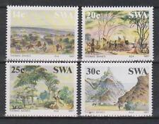 SWA SOUTH WEST AFRICA - 1987 Paintings by Thomas Baines SG 471/4 MNH ART