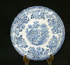 Myott Staffordshire England 1982 Tonquin blau Kuchenteller 20 cm Dm