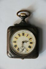 Antique Pocket  Watch  square type