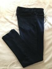 (*-*) GAP * Womens Stretch MID RISE SKINNY Blue Jeans / Denim * Size 31 / 12r