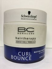 Schwarzkopf BC Bonacure Hairtherapy Curl Bounce Butter Treatment 4 Thick Curls