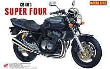 Aoshima 42151 Bike 09 Honda Cb400 Super Four 1/12 Scale Kit