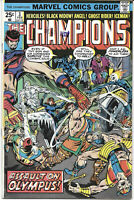 The Champions #3 1976 VF Marvel Comics FREE BAG/BOARD