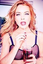 Lindsay Lohan Hot Glossy Photo No110