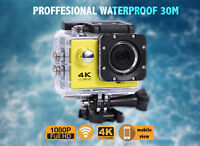4K HD DVR Bike DV Video Camcorder Wifi Sports Action Go Pro Camera Waterproof