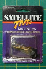 Satellite Mag Tnt 125 Titanium Nitride Coated Replacement Broadhead Blades Tsms9