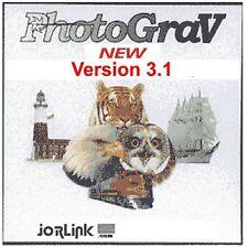 Photograv Version 3.1 Laser Engraver Software +  Free Can of Laser Bond 100