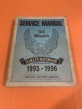 New ListingHarley Davidson 1995-1996 Xlh Sportster Factory Service Manual 99484-96