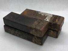 WW2 four German bakelite boxes from a gas mask service kit.Original.