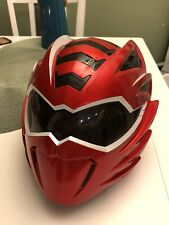 POWER RANGERS Jungle Fury Mega Mission Red Ranger Helmet (Minor Damage)