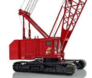 Manitowoc 4100W Crawler Crane - Red - Weiss Bros 1:50 Scale #WBR030-1202 New!