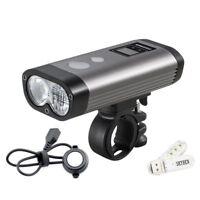 Ravemen PR1200 USB Rechargeable Front Bike Light LED Bicycle Flashlight 1200 LM