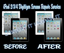 iPad 2/3/4 Broken Cracked Glass Digitizer Screen Repair Service