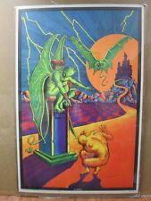 Condemned Vintage Black Light Poster 1973 Inv#G3648