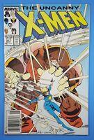Uncanny X-MEN #217 Featuring Dazzler vs Juggernaut Marvel Comics 1987 Newsstand