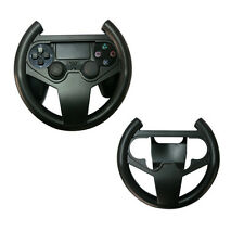 Black Steering Wheel Controller Racing Game Gamepad For PS4 PlayStation 4