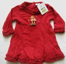 LE TOP Babykleid in Rot mit Motiv Gr. 6 Monate