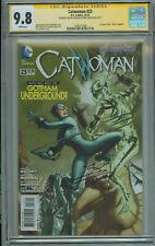 Catwoman #23 CGC 9.8 Signed Rachel & Terry Dodson 1st App Joker Daughter DC 2013