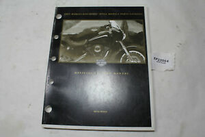 2001 Harley Dyna parts manual catalog 99439-01 FXD FXDL FXDX book EPS23564