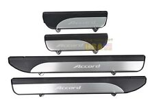 4 Door Stainless Door Sill Plate Guard For Accord MK9 2013-2014