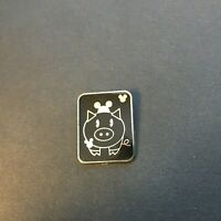 WDW - Hidden Mickey Pin Series III - Pig With Mouse Ears - Disney Pin 64830