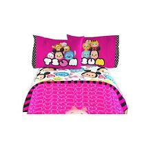 New Disney Tsum Tsum Kids Comfortable Twin 3 pieces Bedding Set -(66 x 96) Inch