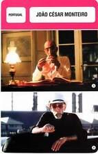 FICHE CINEMA :  JOAO CESAR MONTEIRO -  Portugal (Biographie/Filmographie)