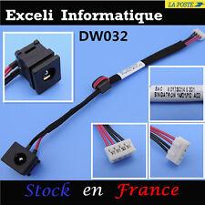 Connecteur dc jack socket cable wire 4 pins Toshiba Satellite /Pro : P300, P305