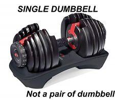 New Single Dumbbell Bowflex SelectTech 552 Adjustable 100182 5-52.5 lb ShipFast
