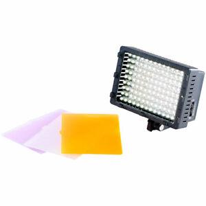 Somikon Foto- & Videoleuchte, 126 Tageslicht-LEDs, 8 Watt, 520 Lumen, 5.500 K