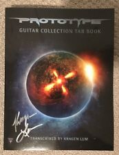 """Prototype """"Guitar Collection TAB Book"""" Autographed Signed Exodus Heathen New!"""