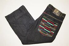 Baggy Relaxed Hip Hop Jeans Mens 40 x 26-1/2 inseam Can be let out to 32 inseam
